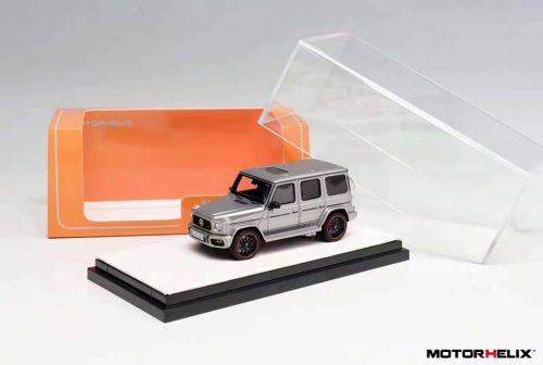 Mercedes Benz G63 AMG Matt Grey | MOTORHELIX | 1:64