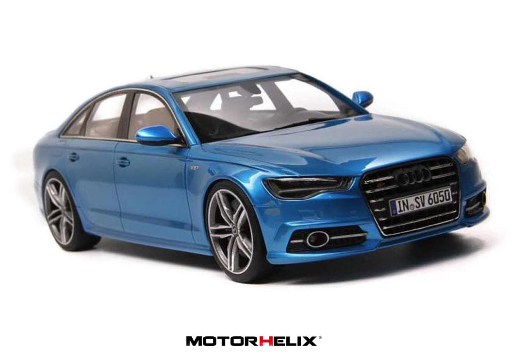 Audi S6 (C7) Sedan 2019 Blue