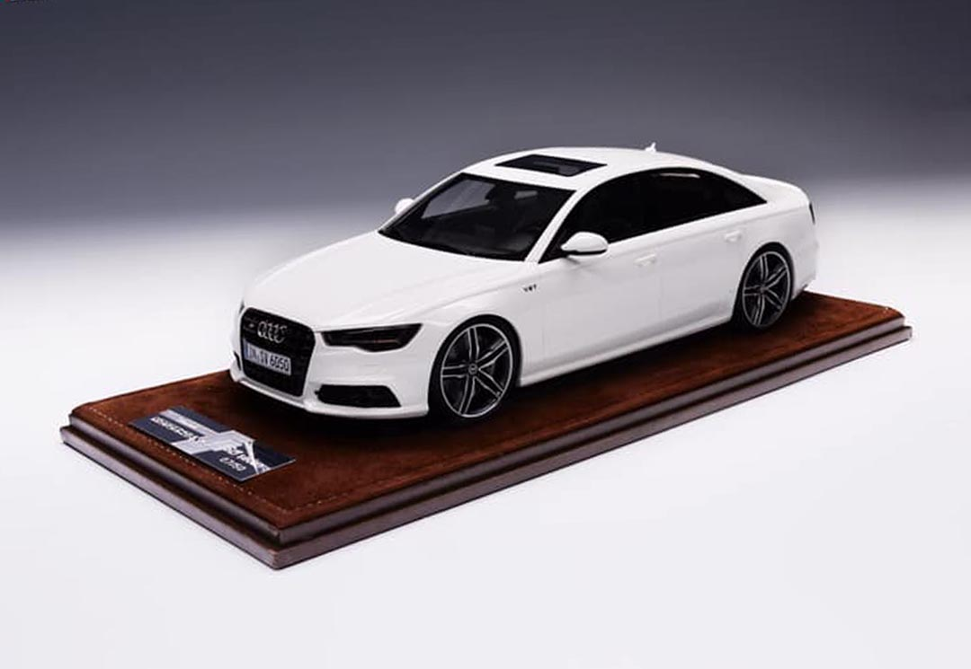 Audi S6 (C7) Sedan 2019 White